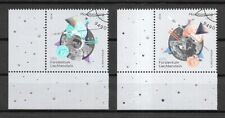 Liechtenstein Mi.Nr. 1940-1941 (2019) gestempelt/50 Jahre bemannte Mondlandung