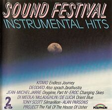 SOUND FESTIVAL - INSTRUMENTAL HITS / 2 CD-SET - TOP-ZUSTAND