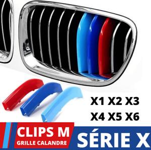 Garniture de calandre BMW X1 X2 X3 X4 X5 X6 Avant sport Grille M Bandes Perf