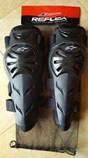 ginocchiere protezioni ginocchia adulto alpinestars, motocross quad enduro mtb