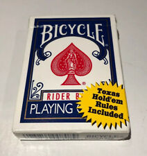 Bicycle Rider Back Playing Cards Poker 808