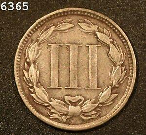 1867 Three-Cent Piece (Nickel) *Free S/H After 1st Item*