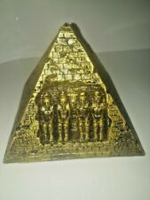 Craft Egyptian Pyramid gypsum - Egypt Figurine Statue Model Sculpture hand made