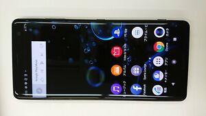SONY Xperia XZ3 801SO -64GB-  Black (Softbank SIM LOCKED)  AK04-1129    03/02
