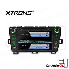 "XTRONS 8"" Touch Screen Car DVD Player GPS Navigation for Toyota Prius 2009-2013"