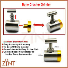 Implant Bone Grafting Mill Grinder Crusher Bone Augmentation Dentist Tools New