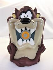 1997 Looney Tunes Taz Tasmanian Devil Vinyl Cartoon Coin Bank