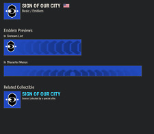 Destiny 2 Sign of Our City !!!RARE CODE AVAILABLE NOW!!! INSTANT DELIVERY 100%