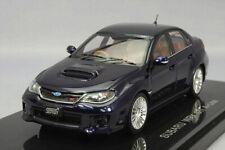 Ebbro 1:43 Nissan Impreza WRX STI 4 door A-Line Blue from Japan