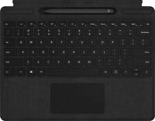 Microsoft - Surface Pro X Signature Keyboard with Slim Pen - Black QSW-00001