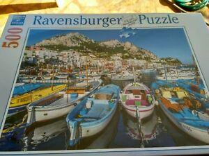 Ravensburger puzzle Colourful Marina 500 pieces
