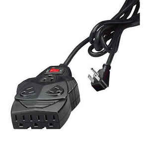 Fellowes 99090 Mighty 8 Surge protection. With 6' cord, space for up to 5 AC