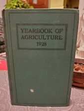 Vintage USDA YEARBOOK OF AGRICULTURE Farming Book 1928  HC 1145 pg
