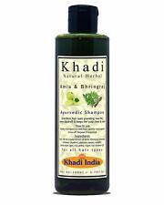 Khadi Natural Herbal Amla Bhringraj Shampoo for Men Women 200ml