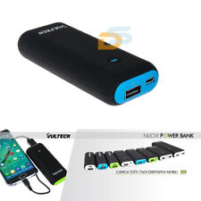 BATTERIA ESTERNA POWER BANK 5200 mAh UNIVERSALE CARICABATTERIA SMARTPHON/MP3