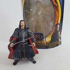 """Aragorn LOTR Super Poseable Pelennor Fields 6"""" Figure ToyBiz Return Of The King"""