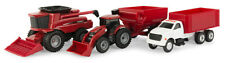 Tomy 1/64 Scale Case IH Agriculture Farm/Set - 4 Pc Everyday Play - FREE US Ship