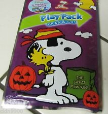 Snoopy Play & Pack Grab & Go Snoopy Pumplin Patch Color Book, Stickers, Crayons