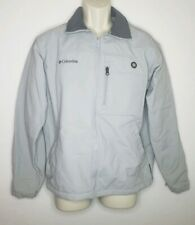 Columbia Mens Medium Jacket Softshell Gray Core Interchange