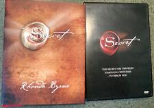 Lot 2 The Secret book & DVD Rhonda Byrne Achieve health wealth happiness