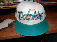 Miami Dolphins New Era NFL Authentic Adjustable Snapback Hat