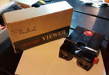 Vintage STEREO REALIST Stereoscopic Viewer WORKS with original box + 18 slides