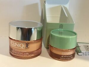 New Clinique All About Eyes Reduces Circles Puffs (15ml Full Sz + 5ml Travel Sz)