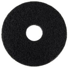 """Genuine Joe Stripping Floor Pads - 16"""" Diameter - Black - 5 Count"""