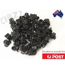 10x Mini Hair Clips Small Plastic Clamp Claw Grip Girls Styling Tools Gift Pack