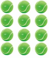 New listing NC Really Light Weight Cricket Tennis Ball in Several Colors Pack Of 12