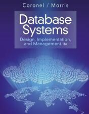 Database Systems: Design, Implementation, and Management 11E by Coronel, Morris