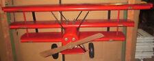 """""""Roter Baron"""" Fokker DR I 425/17 Wandregal"""