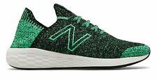 New Balance Men's Fresh Foam Cruz Sockfit Shoes Black With Green