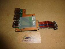 Toshiba Tecra A10, Satellite Pro S300 Laptop USB Board & Cable. P/N: FG6US1