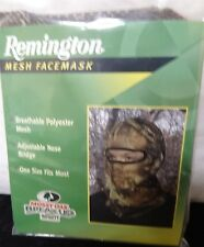 Remington Mesh Facemask Mossy Oak Break-Up One Size Fits Most 80045BI