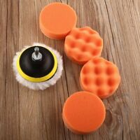 Wheel New M10 Drill Adapter Car Buffing Pad Polishing Kit Sponge Foam Buffer