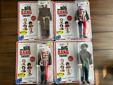 Set Of 4 Big Bang Theory Renaissance Fair SDCC Exc Action Figures Bif Bang Pow