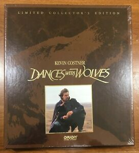 DANCES WITH WOLVES Laserdisc Collectors Edition SEALED Box Set WIDESCREEN