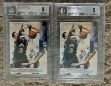2003 SI for Kids Lebron James Rookie Card RC BGS 9 Investor Lot - Qty 2