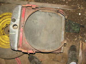 International IH Farmall Tractor Radiator H  Super  H 300 350