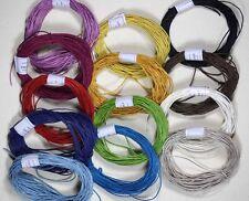 Hemp twine -Lightly waxed coating  10 Metre x1MM   Crafts - Macrame -Labelling -