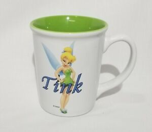 Disney Store Tink Coffee Mug Tinkerbell Ceramic Tea Cup 16 oz