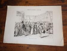 1820.gravure prise Bastille Révolution 1789