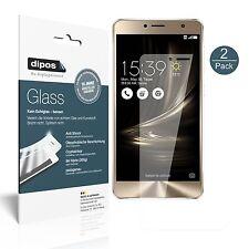 2x Asus Zenfone 3 Deluxe ZS550KL 5,5 Zoll Protection ecrán Verre souple Film