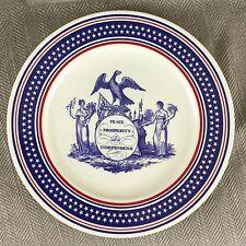 President Bush Plate Patriotic Decor POTUS USA Americana Mottahedeh American