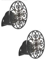 (2) Ea Liberty # 670 Decorative Powder Coated Aluminum Garden Hose Hangers