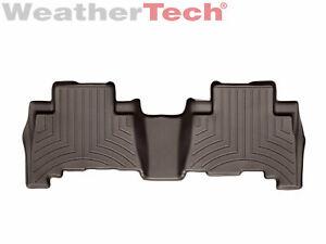 WeatherTech FloorLiner Mats for Toyota 4Runner/ Lexus GX - 2010-2018 - Cocoa