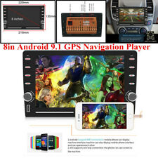 """8"""" 2.5D Car MP5 Android 9.1 GPS Player Audio Bluetooth Mirror Link Touch Screen"""