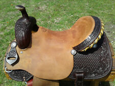 "16"" Spur Saddlery Barrel Racing Saddle - Made in Texas"