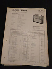 Original Service Manual Philips L5D22T Annette 522